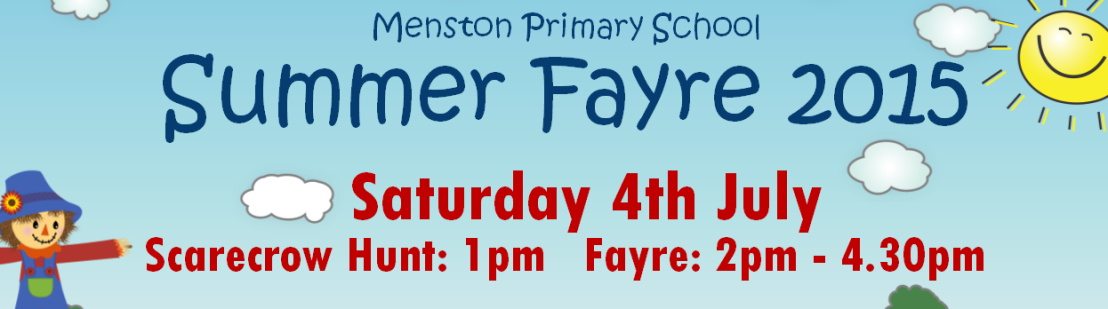 Summer Fayre and Scarecrow Hunt Update – Saturday 4th July from 1pm
